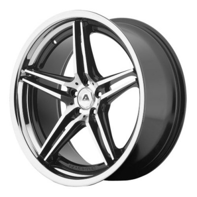 Adventus AVS-1 Gloss Black Machine wheel (20X10, 5x120, 74.10, 25 offset)