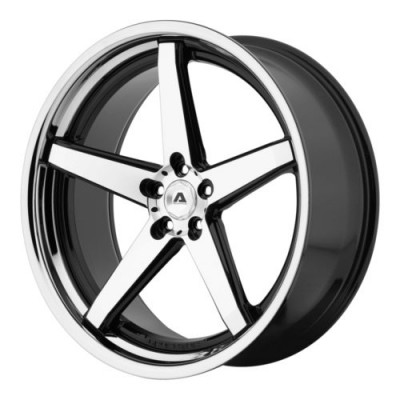 Adventus AVS-2 Gloss Black Machine wheel (22X10.5, 5x120, 74.1, 25 offset)