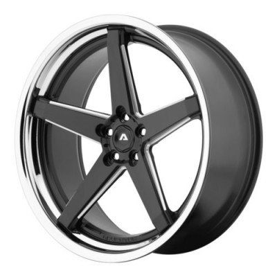 Adventus AVS-2 Matt Black Machine wheel (20X10, 5x114.3, 74.1, 30 offset)