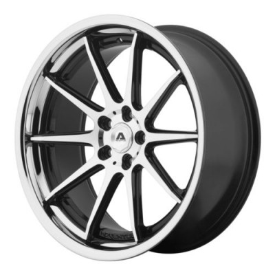 Adventus AVS-4 Gloss Black Machine wheel (20X8.5, 5x120, 74.10, 35 offset)