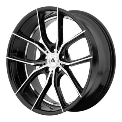 Adventus AVX-6 Gloss Black Machine wheel (20X10, 5x114.3, 74.1, 38 offset)