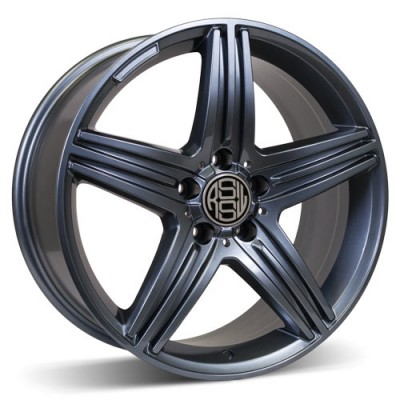 RSSW Exclusive Anthracite / Anthracite, 18X8.5, 5x112 ,(déport/offset 42 ) 66.6 Mercedes Benz