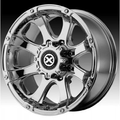 ATX Ledge AX188 Chrome Plated wheel (17X8, 5x139.7, 130.1, 0 offset)