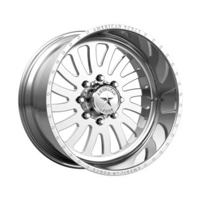 American Force OCTANE SS Polished wheel (24X14, 8x165.1, 122, -73 offset)