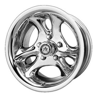 American Racing AR136 VENTURA Polished wheel (15X8, 5x114.30, 83.06, -19 offset)