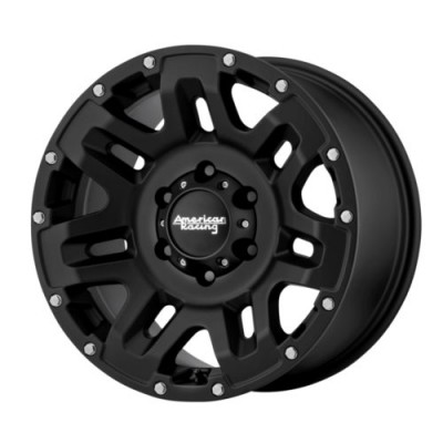 American Racing AR200 YUKON Black wheel (17X9, 5x139.7, 108, 18 offset)