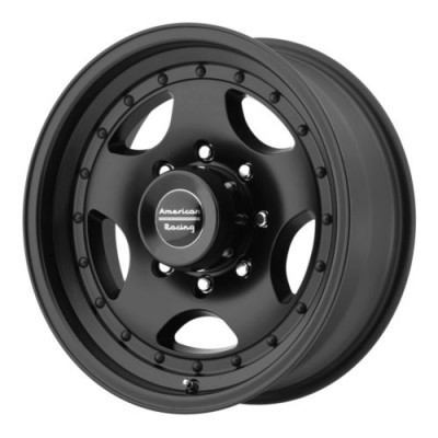 American Racing AR23 Satin Black wheel (14X7, 5x114.3, 83.06, -6 offset)