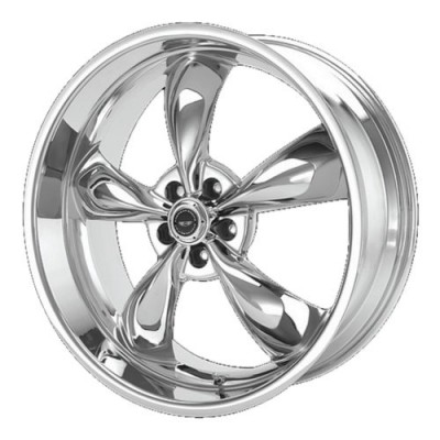 American Racing AR605 TORQ THRUST M Chrome wheel (17X9, 5x114.3, 72.60, 45 offset)