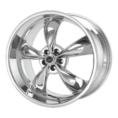 American Racing AR605 TORQ THRUST M Chrome Plated wheel | 20X10, 5x114.3, 72.6, 45 offset