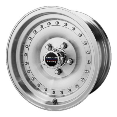 American Racing AR61 OUTLAW I Machine Black wheel (15X8, 5x120.65, 83.06, -19 offset)