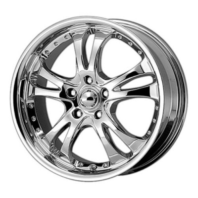 American Racing AR683 CASINO Chrome wheel (17X7.5, 4x100, 72.6, 45 offset)