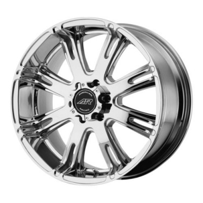 American Racing AR708 Chrome wheel (22X9.5, 8x180, 124.2, 20 offset)