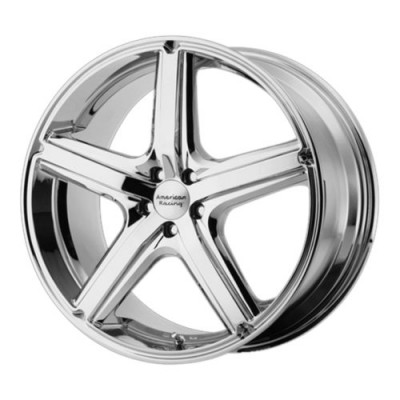 American Racing AR883 MAVERICK Chrome Plated wheel (18X8, 5x110, 72.6, 40 offset)