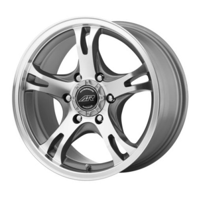 American Racing AR898 Dark Silver Machine wheel (18X8, 5x139.7, 108, 0 offset)