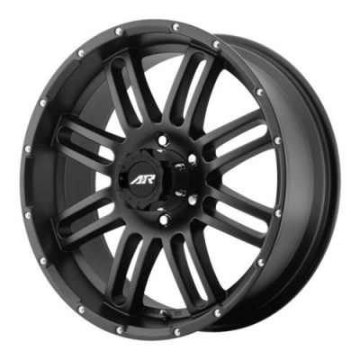 American Racing AR901 Satin Black wheel (20X9, 8x170, 130.81, 20 offset)