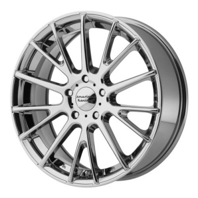 American Racing AR904 Chrome wheel (18X8, 5x120, 74.10, 45 offset)