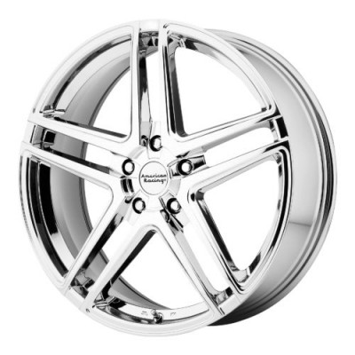 American Racing AR907 Chrome wheel (17X7.5, 5x112, 72.60, 42 offset)
