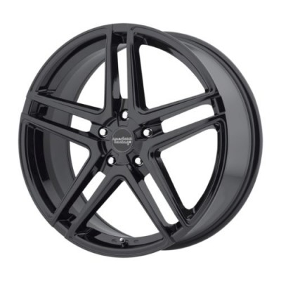 American Racing AR907 Gloss Black wheel (16X7, 5x112, 72.60, 40 offset)