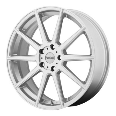 American Racing AR908 Machine Silver wheel (17X7.5, 5x114.3, 72.6, 42 offset)