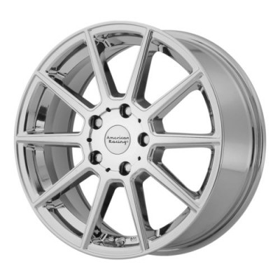 American Racing AR908 Chrome wheel (16X7, 5x114.3, 72.6, 40 offset)