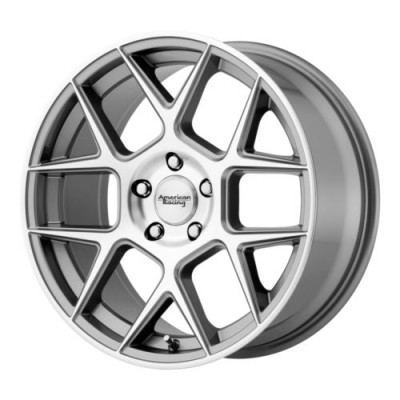 American Racing AR913 APEX Machine Gunmetal wheel (20X9, 5x120, 74.10, 25 offset)