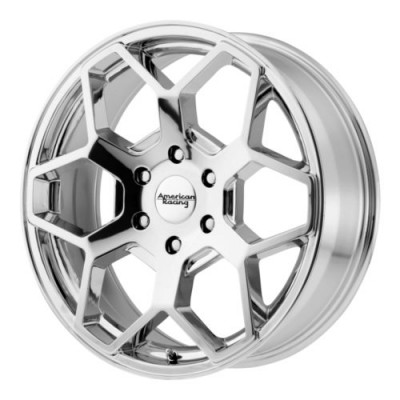 American Racing AR916 Chrome Plated wheel (22X9, 6x139.7, 106.25, 30 offset)