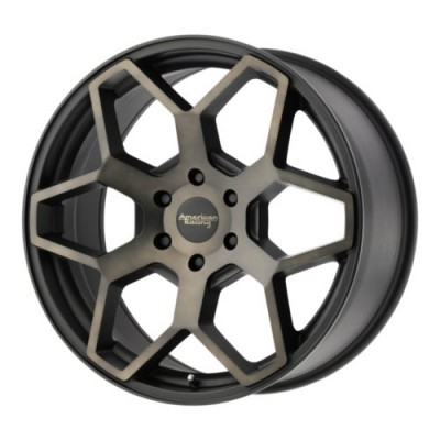 American Racing AR916 Satin Black wheel (18X8.5, 6x139.70, 106.25, 15 offset)