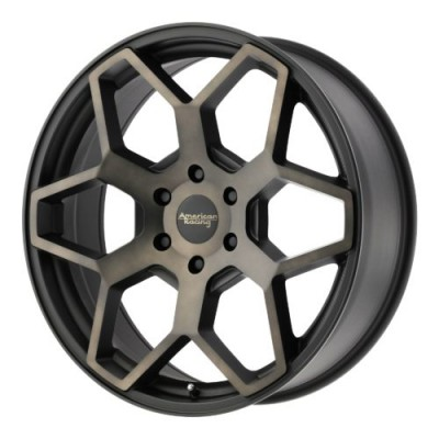 American Racing AR916 Machine Black wheel (20X8.5, 6x139.7, 106.25, 15 offset)