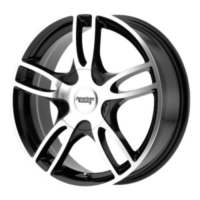 American Racing AR919 ESTRELLA 2 Gloss Black Machine wheel (15X7, 5x108/114.3, 72.60, 35 offset)