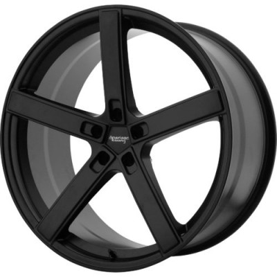 American Racing AR920 BLOCKHEAD Satin Black wheel (19X9, 5x114.3, 72.60, 35 offset)