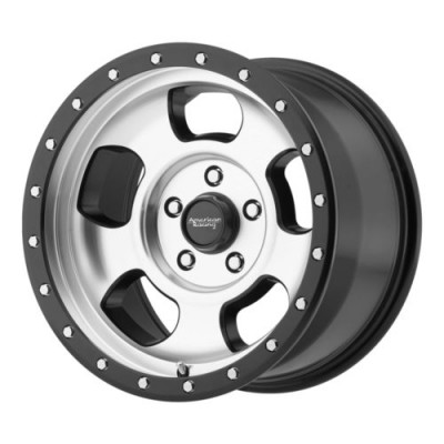 American Racing AR969 ANSEN OFFROAD Machine Black wheel (17X8, 6x139.7, 108, 0 offset)