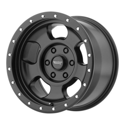 American Racing AR969 ANSEN OFFROAD Satin Black wheel (17X8, 5x139.7, 108, 0 offset)