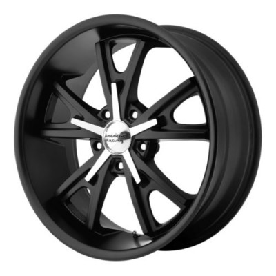 American Racing DAYTONA Machine Black wheel (22X11, 5x114.3, 72.6, 38 offset)