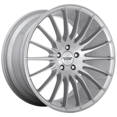 American Racing FASTLANE Silver wheel (20.00X8.50, 5x115.00, 72.6, 25 offset)