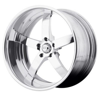 American Racing Forged VF495 Chrome wheel (26X9, , 72.6, 0 offset)
