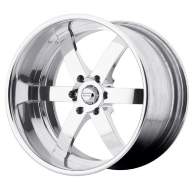 American Racing Forged VF496 Chrome wheel (26X9, , 72.6, 0 offset)