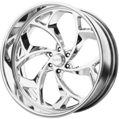 American Racing Forged VF521 Polished wheel (17X7, , 72.6, 0 offset)