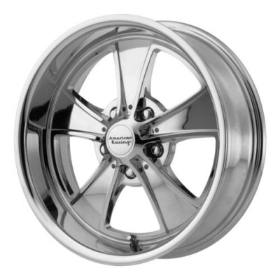 American Racing MACH 5 Chrome Plated wheel (20X10, 5x114.3, 72.6, 45 offset)