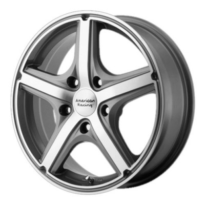 American Racing MAVERICK Anthracite Diamond Cut wheel (18X8, 5x120, 74.1, 40 offset)