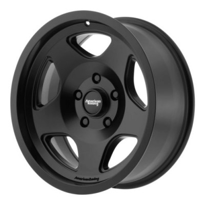 American Racing MOD 12 Satin Black wheel (17X8, 5x139.7, 108, 0 offset)