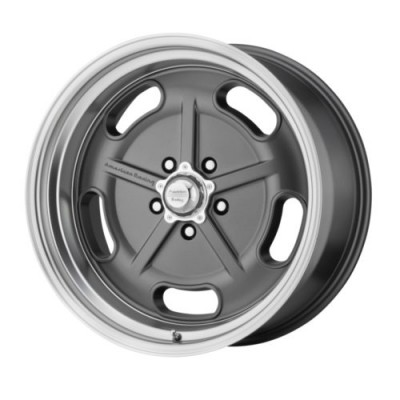 American Racing SALT FLAT Machine Grey wheel (17X7, 5x114.3, 72.6, 0 offset)