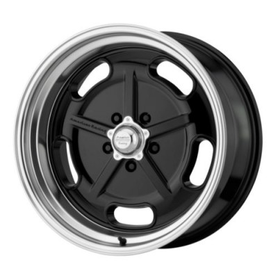 American Racing SALT FLAT Gloss Black Machine wheel (17X7, 5x114.3, 72.6, 0 offset)