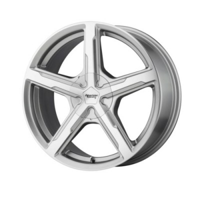 American Racing TRIGGER Machine Silver wheel (15X7, , 72.6, 35 offset)