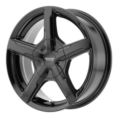 American Racing TRIGGER Gloss Black wheel (17X7, 5x100/105, 72.6, 40 offset)