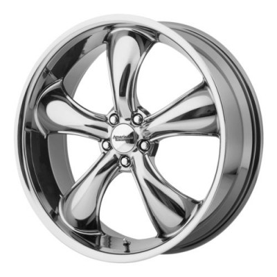 American Racing TT60 Chrome wheel (22X11, 5x114.3, 72.6, 38 offset)