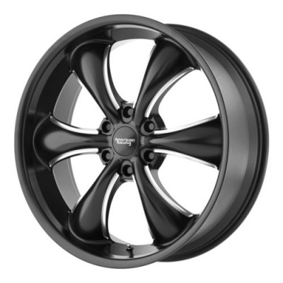 American Racing TT60 TRUCK Machine Black wheel (20X8.5, 6x120, 66.9, 15 offset)