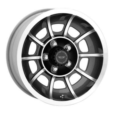 American Racing VECTOR Anthracite Diamond Cut wheel (15.00X8.50, 5x120.65, 86.2, 6 offset)