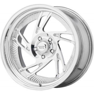 American Racing VF202 Polished wheel (15X15, , 72.6, 0 offset)