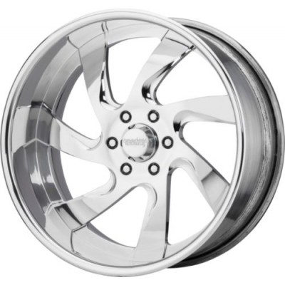 American Racing VF532 Polished wheel (22X8.25, , 72.6, 0 offset)