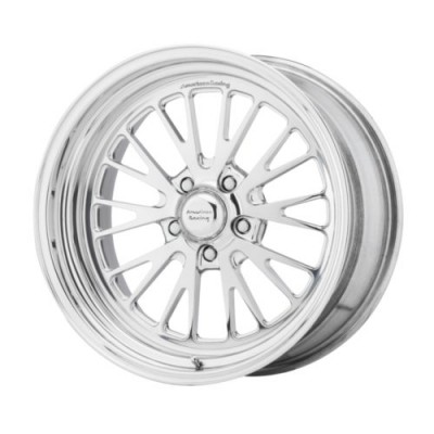 American Racing VF537 Polished wheel (15X3.5, , 72.6, 0 offset)